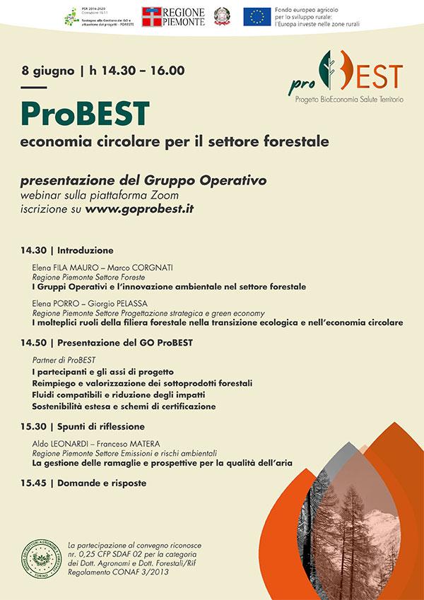 Evento presentazione del Gruppo Operativo ProBEST